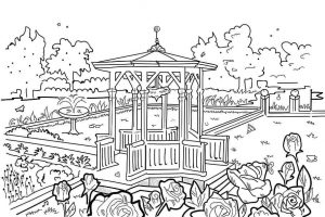 דף צביעה פארק