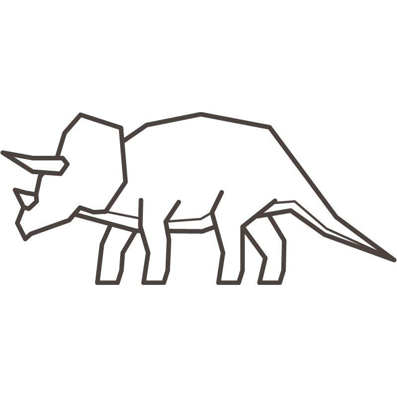 דף צביעה דינוזאור 4