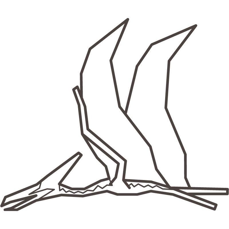 דף צביעה דינוזאור 6