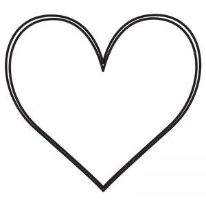 דף צביעה לב 6